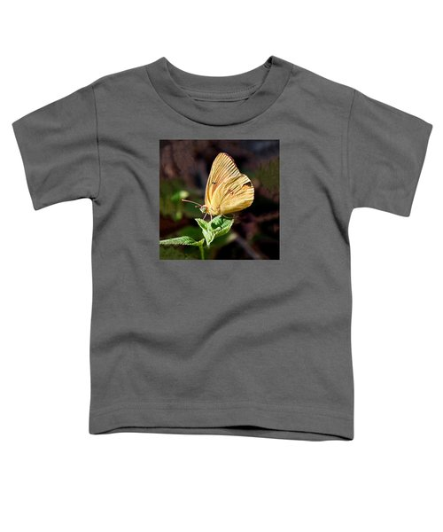 Sulfur Butterfly Profile Toddler T-Shirt