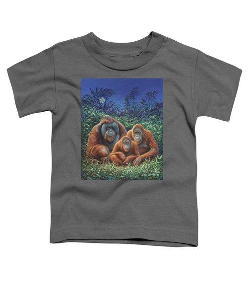 Sumatra Orangutans Toddler T-Shirt