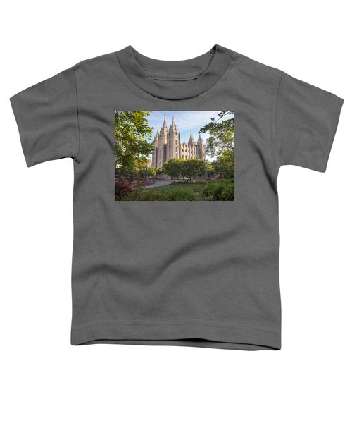 Summer At Temple Square Toddler T-Shirt