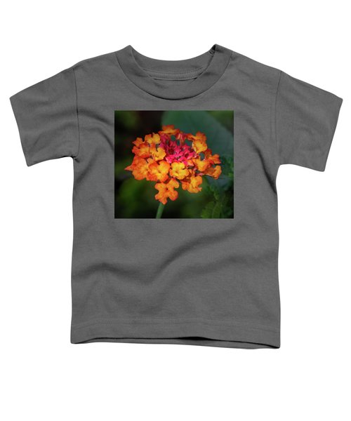 Summer Floral Colors Toddler T-Shirt