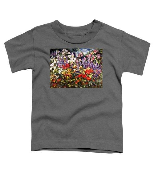 Summer Garden II Toddler T-Shirt