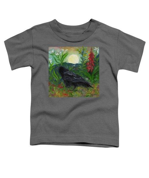 Summer Moon Raven Toddler T-Shirt