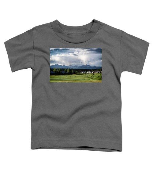 Summer Mountain Paradise Toddler T-Shirt