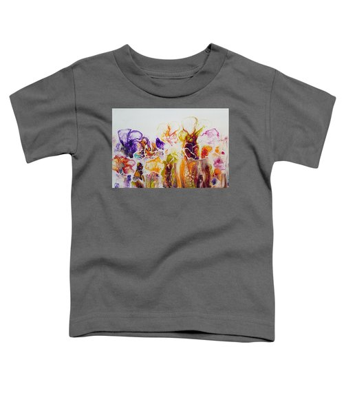 Toddler T-Shirt featuring the painting Summer Splendor  by Joanne Smoley