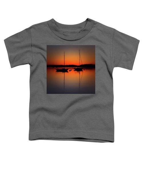Summer Sunset Calm Anchor Toddler T-Shirt