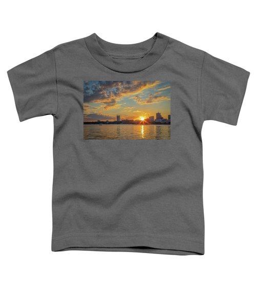 Summer Sunset Over Cambridge Toddler T-Shirt