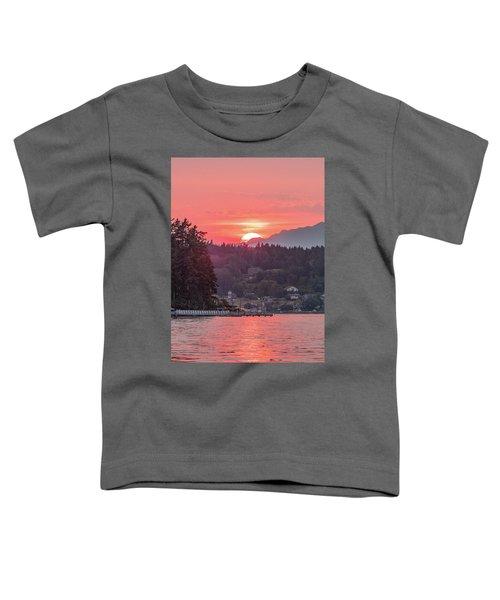 Summer Sunset Over Yukon Harbor.3 Toddler T-Shirt