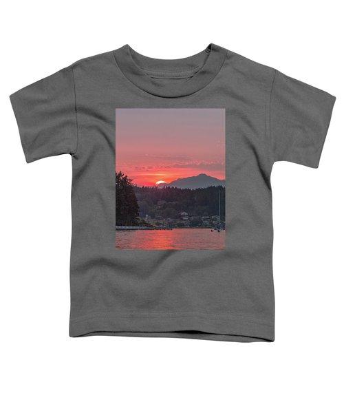 Summer Sunset Over Yukon Harbor.4 Toddler T-Shirt