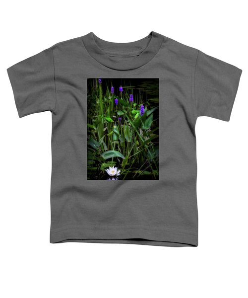 Toddler T-Shirt featuring the photograph Summer Swamp 2017 by Bill Wakeley