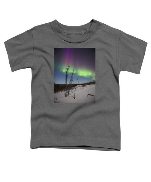 Sun-kissed Aurora Toddler T-Shirt