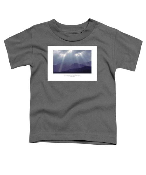 Sunbeams Over Derwent Toddler T-Shirt