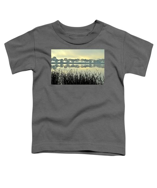 Fog At Sunrise Toddler T-Shirt