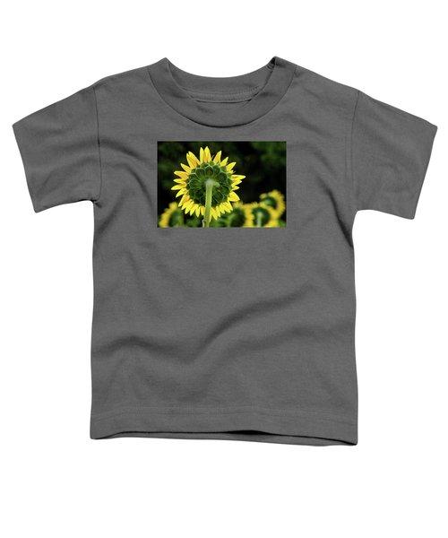 Sunflower Back Toddler T-Shirt