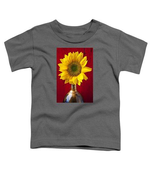 Sunflower Close Up Toddler T-Shirt
