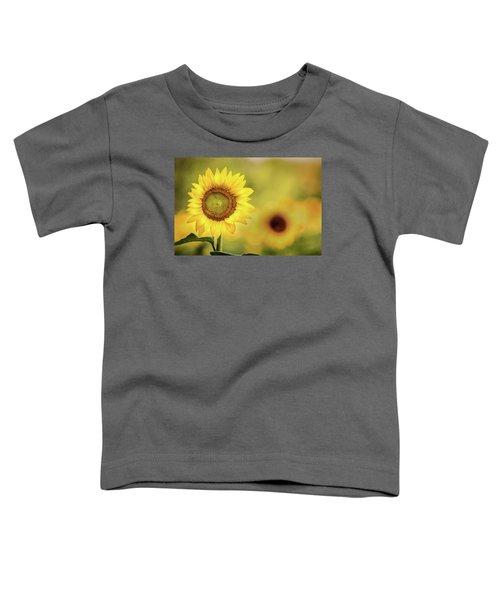 Sunflower In A Field Toddler T-Shirt