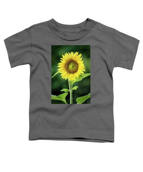Sunflower In Bloom Toddler T-Shirt