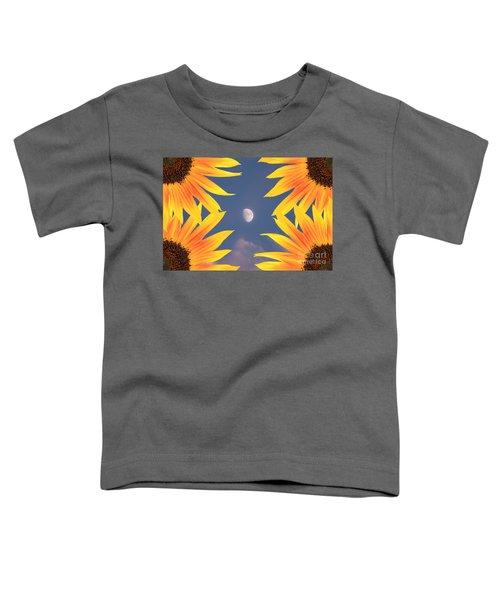 Sunflower Moon Toddler T-Shirt