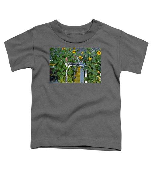 Sunflower Roads Toddler T-Shirt