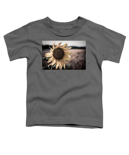 Sunflower Solitude Toddler T-Shirt