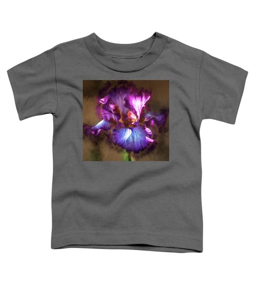 Sunlight Dancing On Iris Toddler T-Shirt