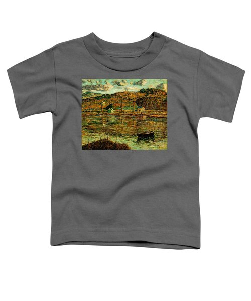Sunlight On The Harlem River 1919 Toddler T-Shirt