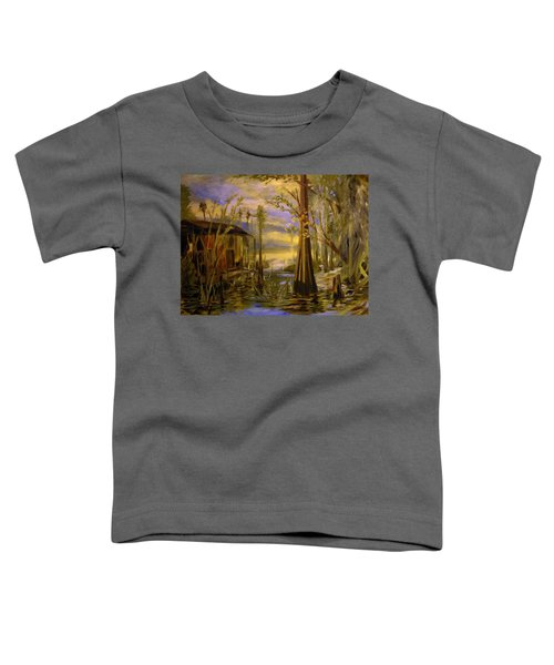 Sunlight On The Swamp Toddler T-Shirt