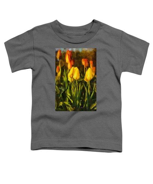 Sunny Tulips Toddler T-Shirt