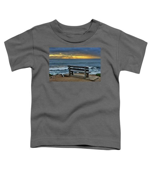 Sunrays On The Horizon Toddler T-Shirt