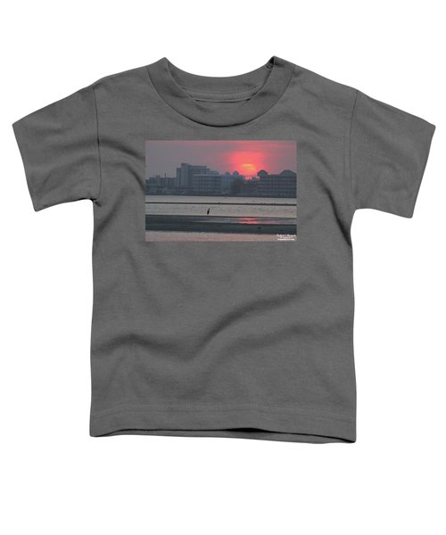Sunrise And Skyline Toddler T-Shirt