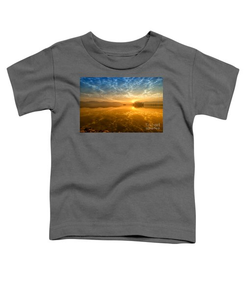Sunrise At Jal Mahal Toddler T-Shirt