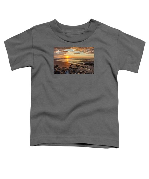 Sunrise At Long Sands Toddler T-Shirt