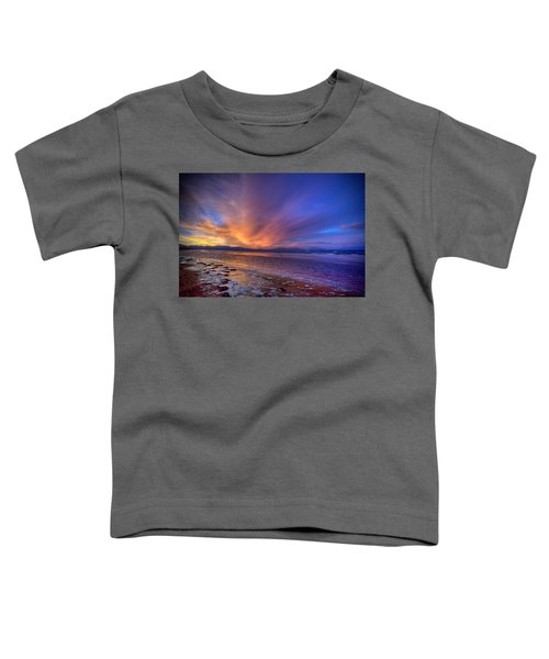 Sunrise At Newborough Toddler T-Shirt
