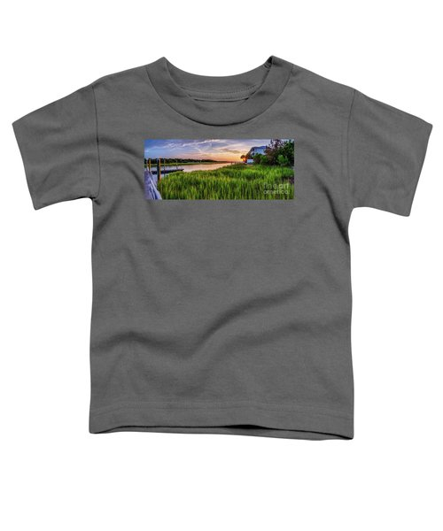 Sunrise At The Boat Ramp Toddler T-Shirt