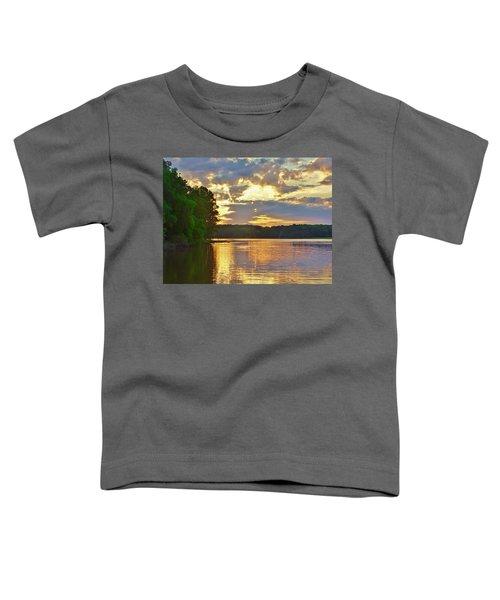Sunrise At The Landing Toddler T-Shirt