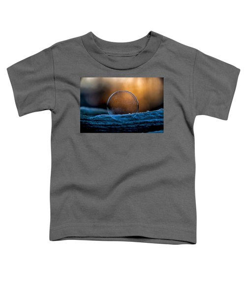 Sunrise Capture In Bubble Toddler T-Shirt