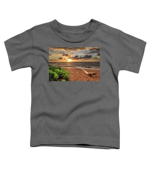 Sunrise In Kapaa Toddler T-Shirt