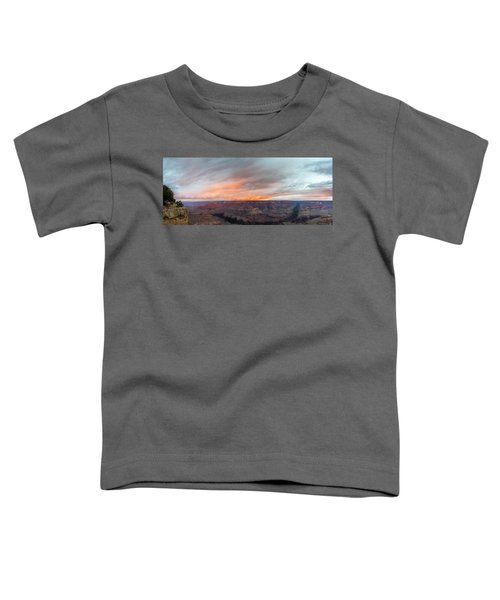 Sunrise In The Canyon Toddler T-Shirt