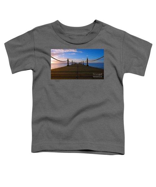 Sunrise Morning Bliss Pier 140a Toddler T-Shirt