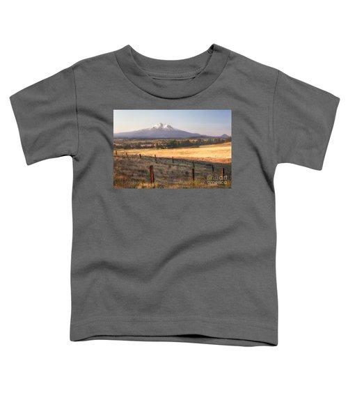 Sunrise Mount Shasta Toddler T-Shirt