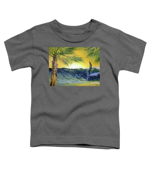 Sunrise Nose Ride Toddler T-Shirt