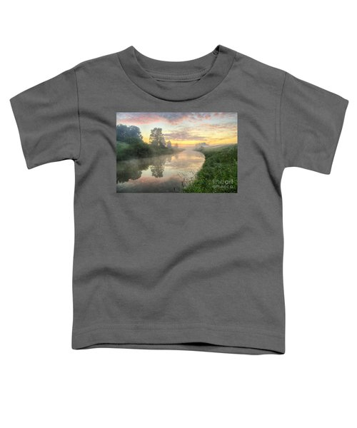 Sunrise On A Misty River Toddler T-Shirt