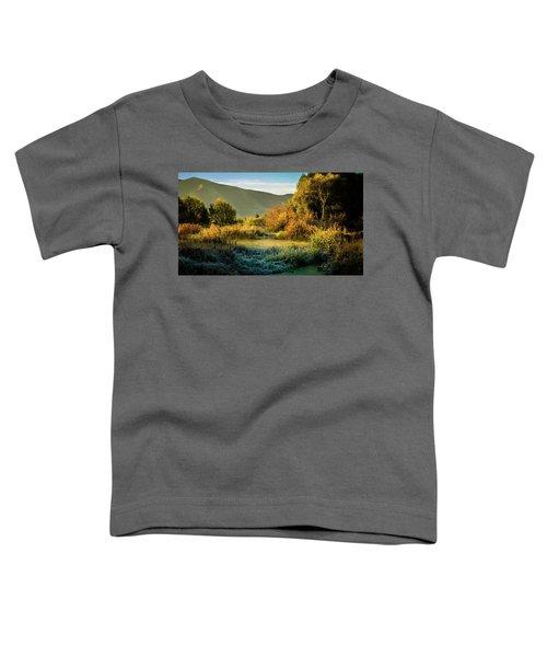 Sunrise On The Duck Marsh Toddler T-Shirt