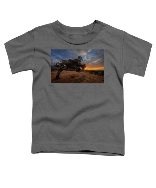 Sunrise Over San Luis Obispo Toddler T-Shirt