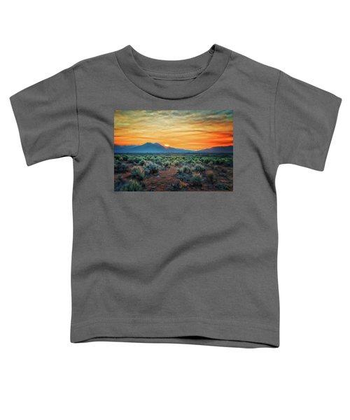 Sunrise Over Taos II Toddler T-Shirt