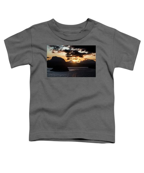 Sunrise Over The Inland Passage Toddler T-Shirt