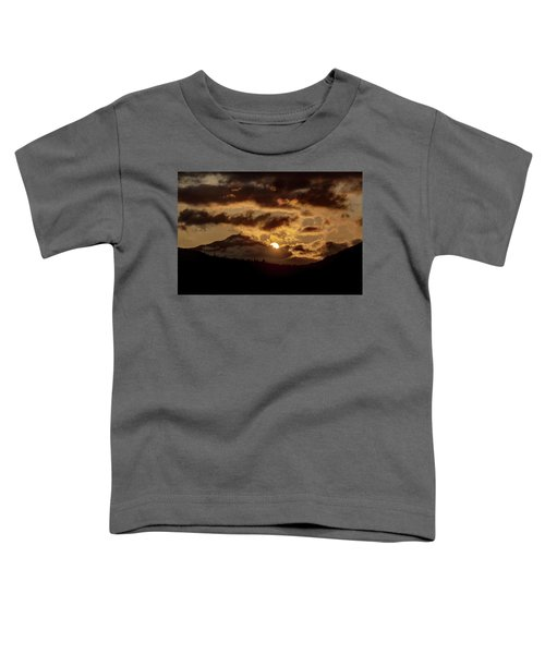 Sunrise Over The Peak Toddler T-Shirt