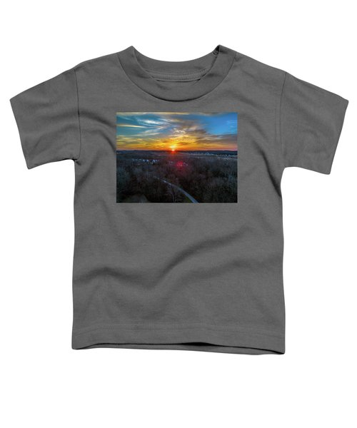 Sunrise Over The Woods Toddler T-Shirt
