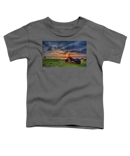 Sunrise Ride Toddler T-Shirt