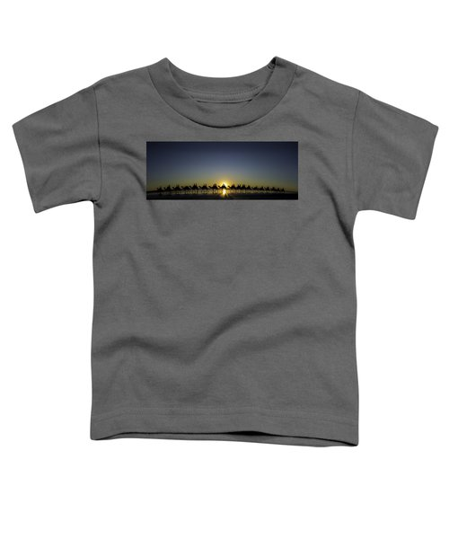 Sunset At Cable Beach Toddler T-Shirt