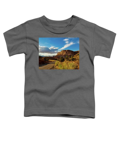 Sunset At Capitol Reef Toddler T-Shirt